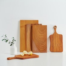 느티나무 사각원목도마[택배무료+오일+사포 증정]420*220*24(중)